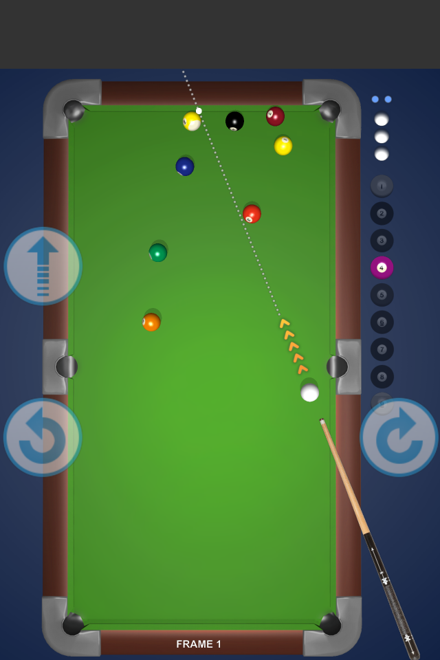 Screenshot 2D Pool Billard